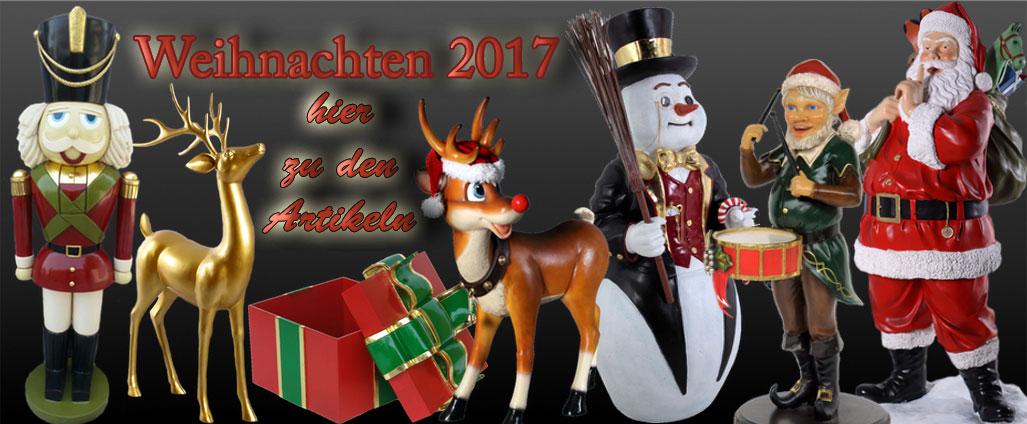 Weihnachtsdekoration XXL