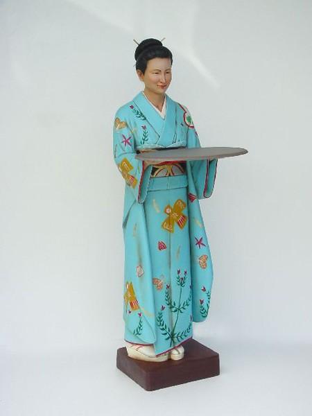 japanische geisha walt deko. Black Bedroom Furniture Sets. Home Design Ideas