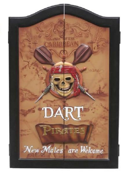 Piraten-Dartkasten