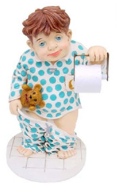 Toilettenjunge