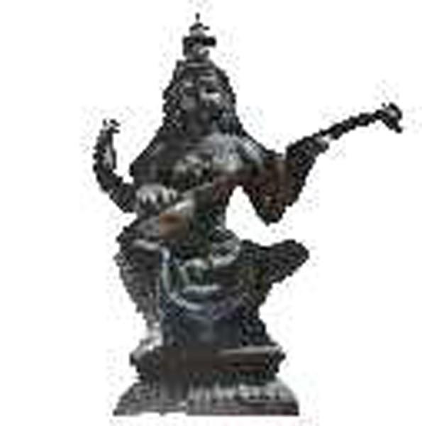Inderin mit Laute 76cm