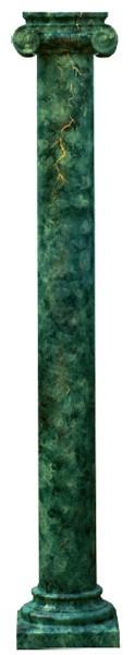 Große Säule im Marmor - Look
