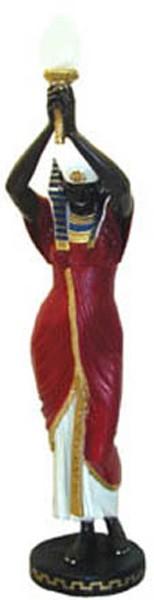 Ägypterin mit Lampe
