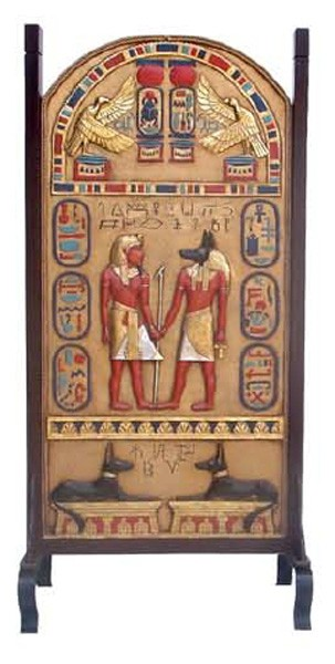 ägyptisches Werbeschild