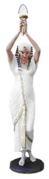 Ägypterin mit Lampe 2