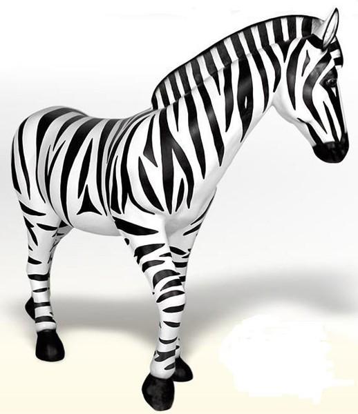 zebra walt deko. Black Bedroom Furniture Sets. Home Design Ideas