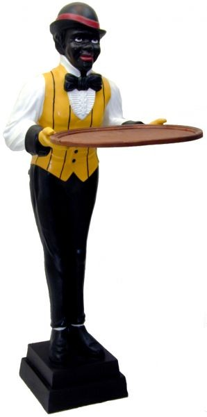 Butler mit Tablett