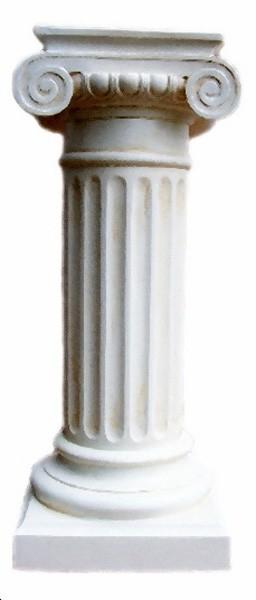 Säule mit Schneckenkapitell
