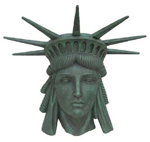 Freiheitsstatue Kopf
