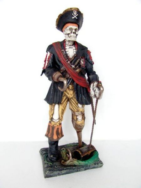Piratenskelett klein