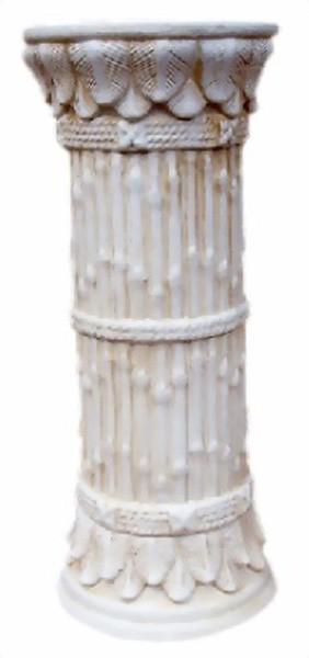 Säule im Bambus - Look