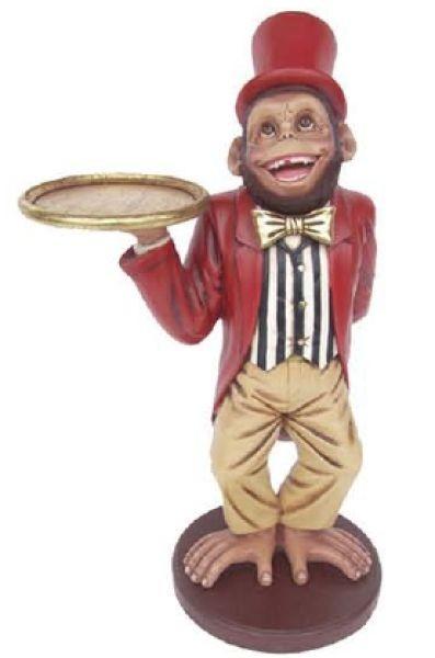 Affe als Butler