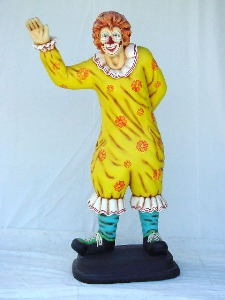 Clown winkend