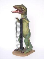 Dinosaurier mit CD-Ständer