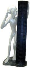Alien mit CD-Ständer III