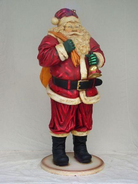 Weihnachtsmann mit Glöckchen klein