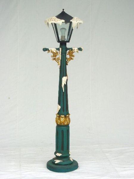 antike Weihnachtslampe