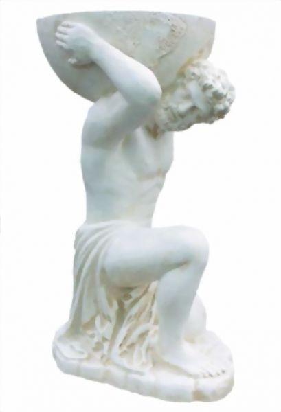 Antike Herrenfigur mit Gefäß