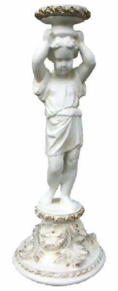 Antike Kindfigur mit Gefäß