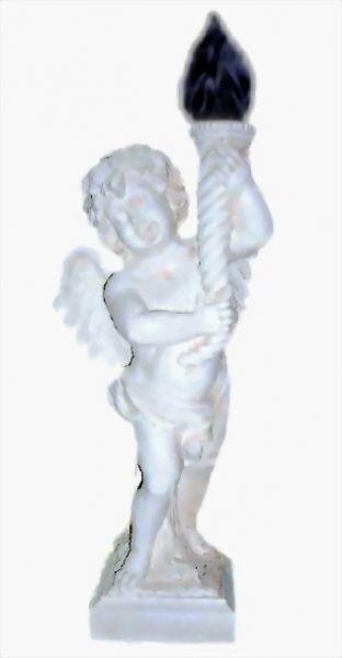 Engel mit Fackel