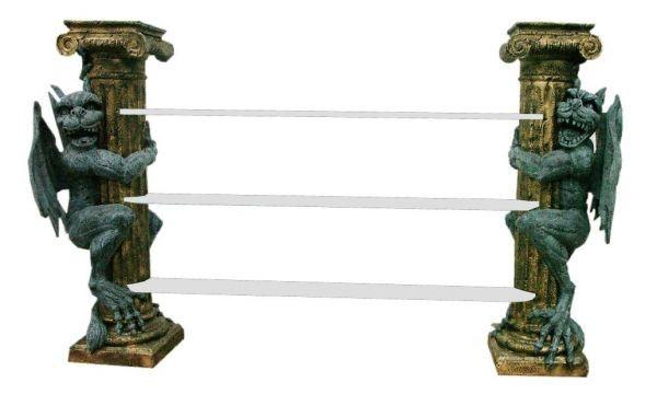 2 Säulen Gothic Regal