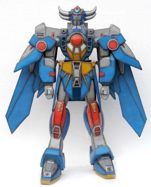 Transformer Roboter blau