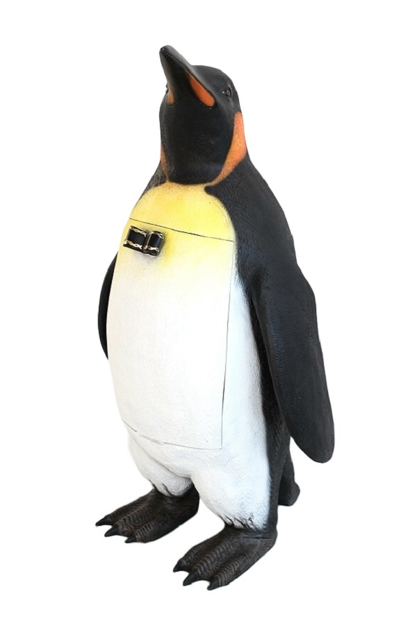 pinguin abfalleimer walt deko. Black Bedroom Furniture Sets. Home Design Ideas