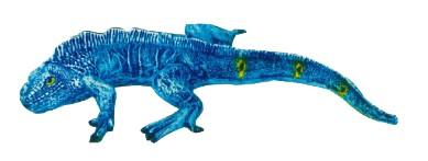 liegender Leguan