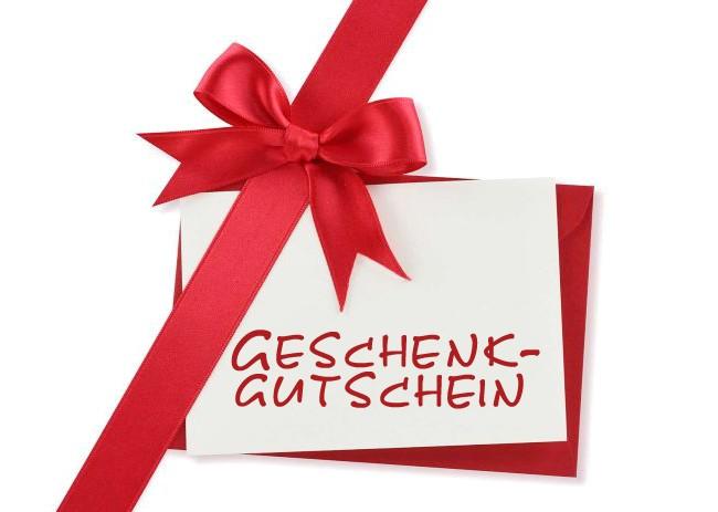 Geschenkkarte - Geschenkgutschein