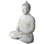 Buddha im Schneidersitz
