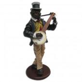 Neger als Banjo Spieler