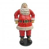 Dicker glücklicher Weihnachtsmann groß