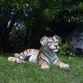 Tigerbaby liegend