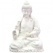 Meditierender Buddha Steinoptik