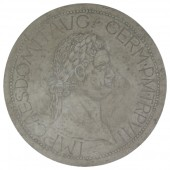 Antike Münze groß