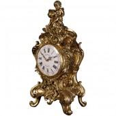 Rococo Uhr Gold