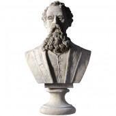 Charles Dickens Büste