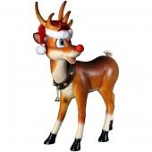 stehendes Rentier Rudolf