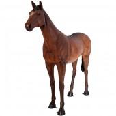 stehendes Pferd