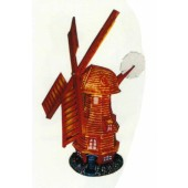 rustikale Windmühle klein