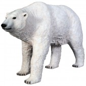 Polarbär laufend