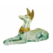 liegender ägyptischer Hund natürlich