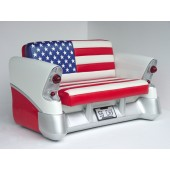 SOFA - 56 CHEVY (AMERICAN FLAG)
