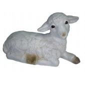 Lamm Schaf liegend