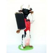 Kuh mit Angebotstafel