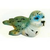 kleine schwimmende Seerobbe