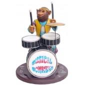Affe am Schlagzeug