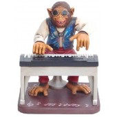 Affe am Keyboard