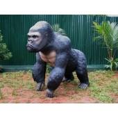 Schwarzer Gorilla