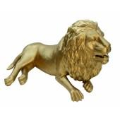 Goldener Löwe liegend
